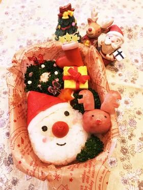 キャラ弁♡クリスマスのサンタさん