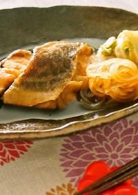 マロニーとタラと白菜の甘辛煮