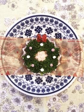 お弁当に♡ツナブロのクリスマスリース