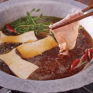 豚ときのこのピリ辛和風鍋