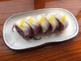 聖護院かぶの紅白寿司