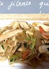 鶏むね肉と野菜の海老だし味噌炒め