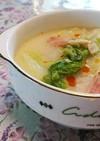 白菜とベーコンの担々風煮☆