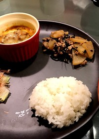 時短 ワンプレート 夕食 12月20日