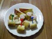 おさかなのソーセージロールの写真