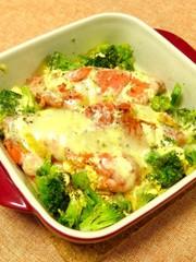 レンジで簡単!銀鮭のチーズ焼きの写真