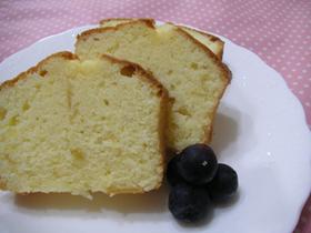 レモンバターケーキ