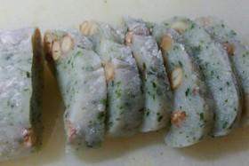お手軽❤切り餅で作るピーナッツの豆餅