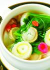 大和野菜たっぷりの「食べる」蒸しスープ
