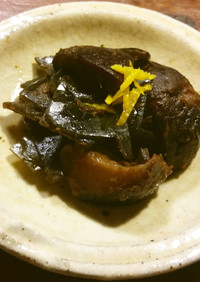 だし昆布と椎茸の佃煮 出し昆布リメイク