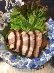 柔らか!豚肉の紅茶煮の写真