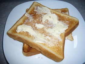 簡単美味しいトースト