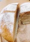 《HB》簡単田舎パン (油脂、牛乳なし)