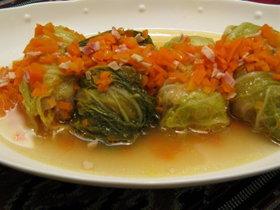 スープがうまっロール白菜