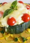 自家製野菜の南瓜丸ごと!グラタン