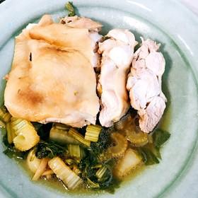 ホットクックでつくる鶏のセロリ煮