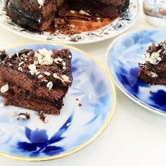 簡単でも美味しいチョコレートケーです