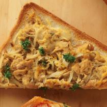 ツナカレーのせパン