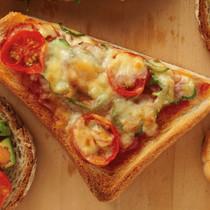 ピザトースト風のせパン
