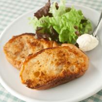 塩味のフレンチトースト