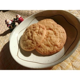 三温糖のバタークッキー