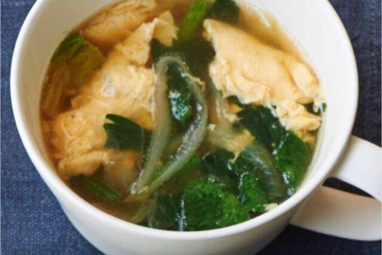 ほうれん草 卵 スープ ほうれん草の卵スープは彩りや栄養も良い!作る時の注意点とは?
