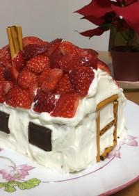 ☆クリスマス☆意外と簡単!おうちのケーキ