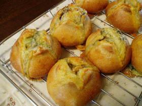 とろっとチーズパン☆ホシノ酵母