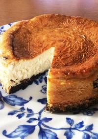 かんたん★大人のラムレーズンチーズケーキ