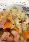 焼き豚と豚肉の中華おこわ 本格的で簡単