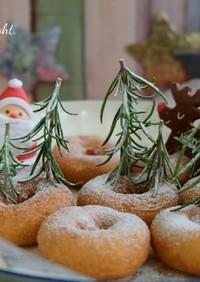 市販のドーナツで可愛いクリスマスデコ☆