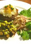 発酵玉葱のビーフハンバーグ