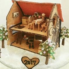 クリスマスに♪お菓子の家2017
