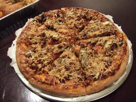 食べごたえ十分!ふんわり美味しいピザ生地