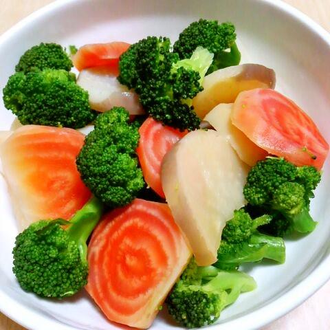 ビーツの温野菜