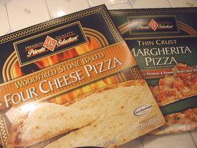アメリカで★おいしい冷凍ピザ★簡単です!