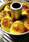 クリスマス☆惣菜リースパン