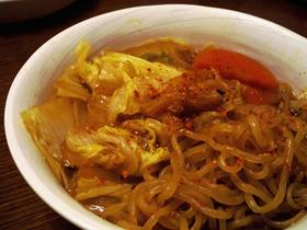 *白菜とにんじんの味噌煮込み(´∪`)*