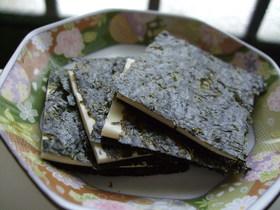 韓国海苔×スライスチーズ
