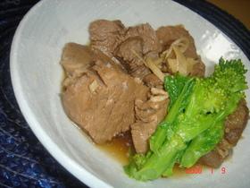 豚ヒレ肉のかんたん角煮☆