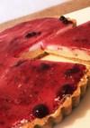 簡単!本格ブルーベリー レアチーズケーキ