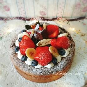 ガトーショコラ ☆ クリスマスケーキ♡