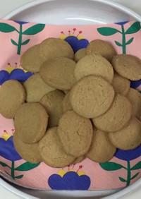 材料4つだけ☆サクサククッキー