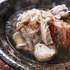 鶏味塩&釜炊き五香だし 具沢山のお雑煮