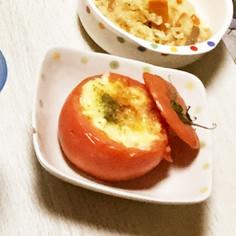 トマト丸ごとグラタン^_^