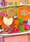 パンダ★クリスマス★ハンバーグ弁当