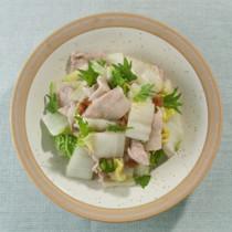 豚肉と白菜のあっさり梅蒸し