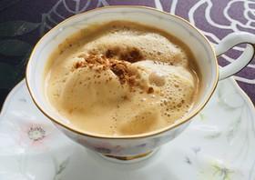 穀物コーヒーのソイラテ風