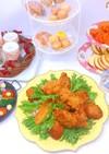 チキンと温野菜 クリスマスの簡単ご馳走