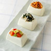 3種ののっけ豆腐